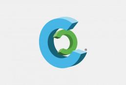 Cybercompli logo icon graphic