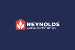 reynolds logo on dark blue background